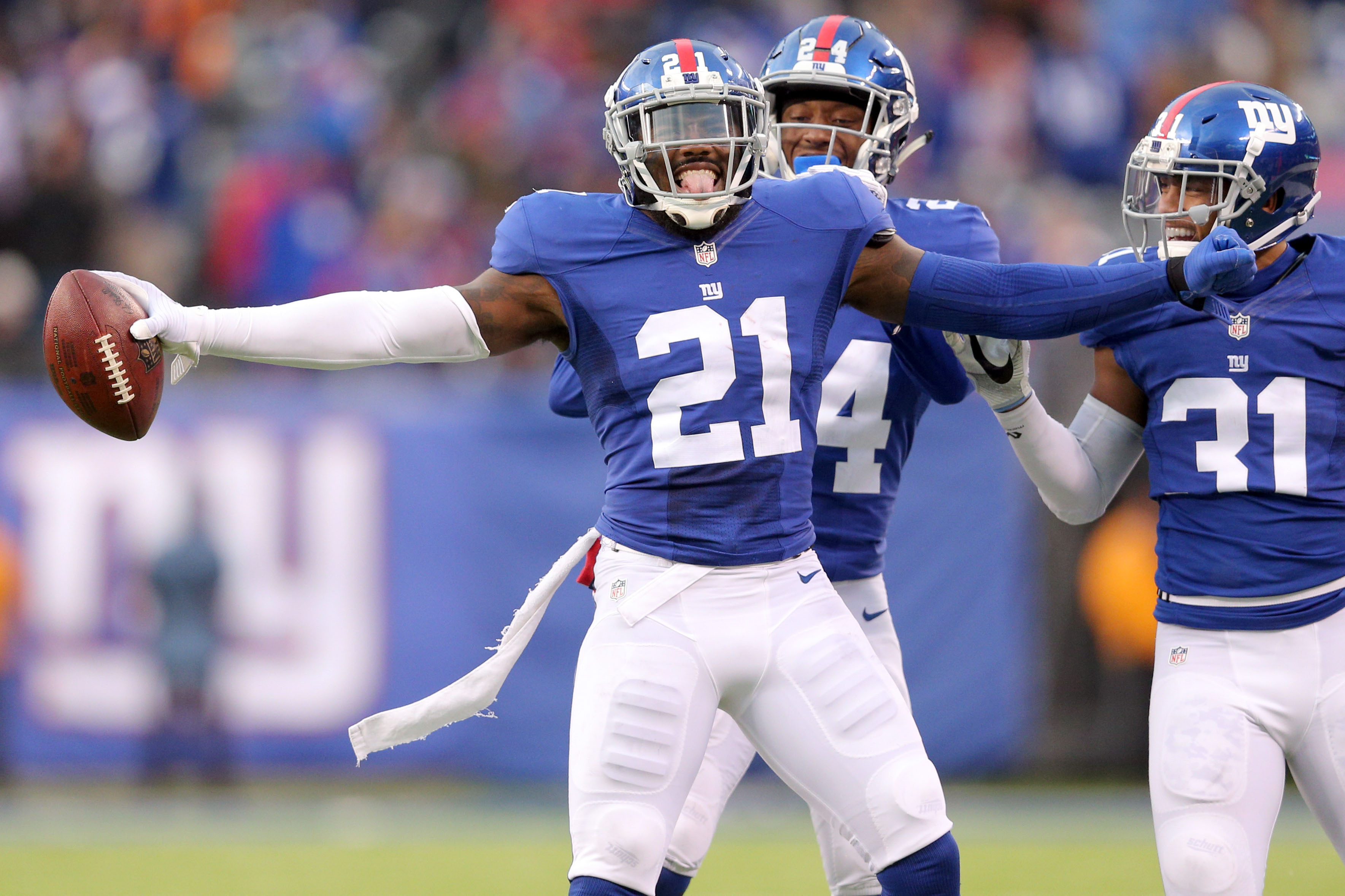 New York Giants S Landon Collins furthers DPOY case during Week 11