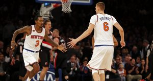 Kristaps Porzingis explodes in New York Knicks win over Blazers (Highlights)