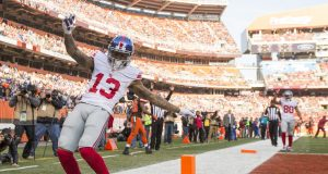 New York Giants game balls in win over Cleveland Browns; Odell Beckham Jr. snags one 2