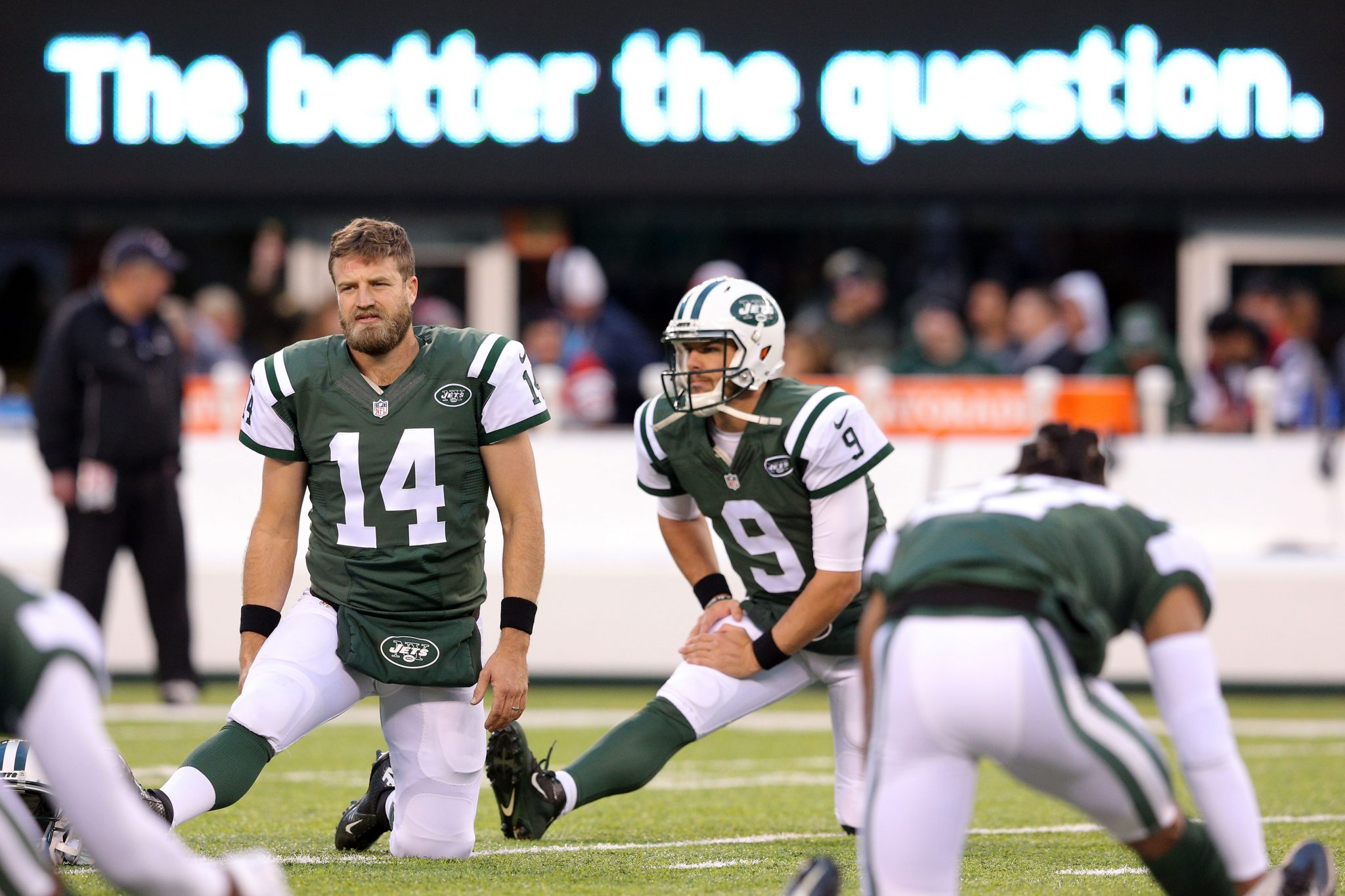 New York Jets QB Ryan Fitzpatrick to Start Monday night against Colts 3