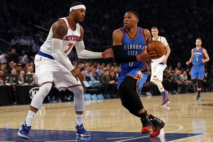 Russell Westbrook has much more to prove than Carmelo Anthony