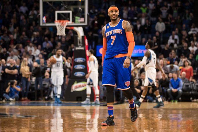 Carmelo Anthony nails game-winner for New York Knicks in Minnesota (Highlights) 2
