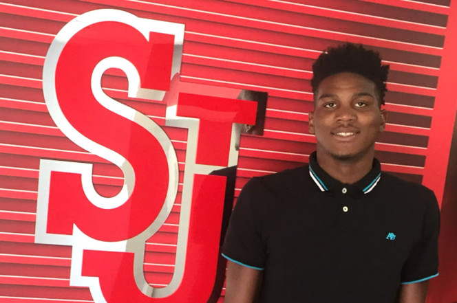 St. John's Red Storm Officially Signs 2017 Recruit Zach Brown 2