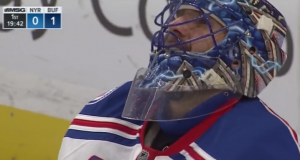 New York Rangers: Henrik Lundqvist gives up worst goal of his career