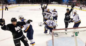 Anders Lee scores two as New York Islanders beat St. Louis Blues (Highlights)