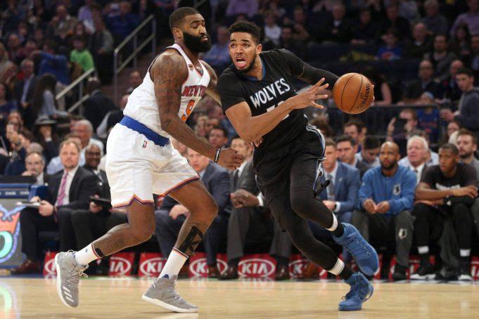 New York Knicks: Kyle O'Quinn steps up in Joakim Noah's absence