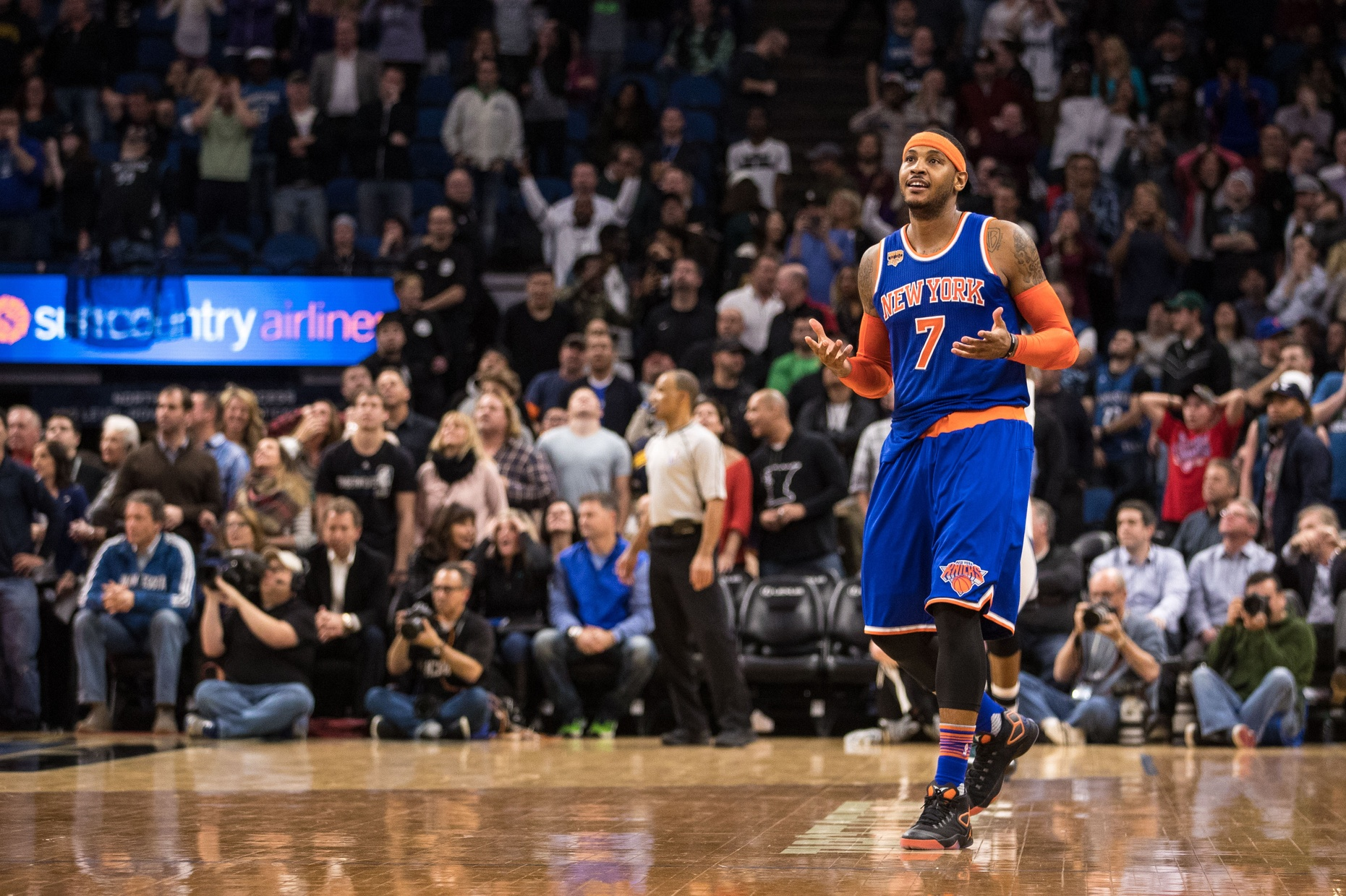 New York Knicks: Carmelo Anthony hits another game-winner