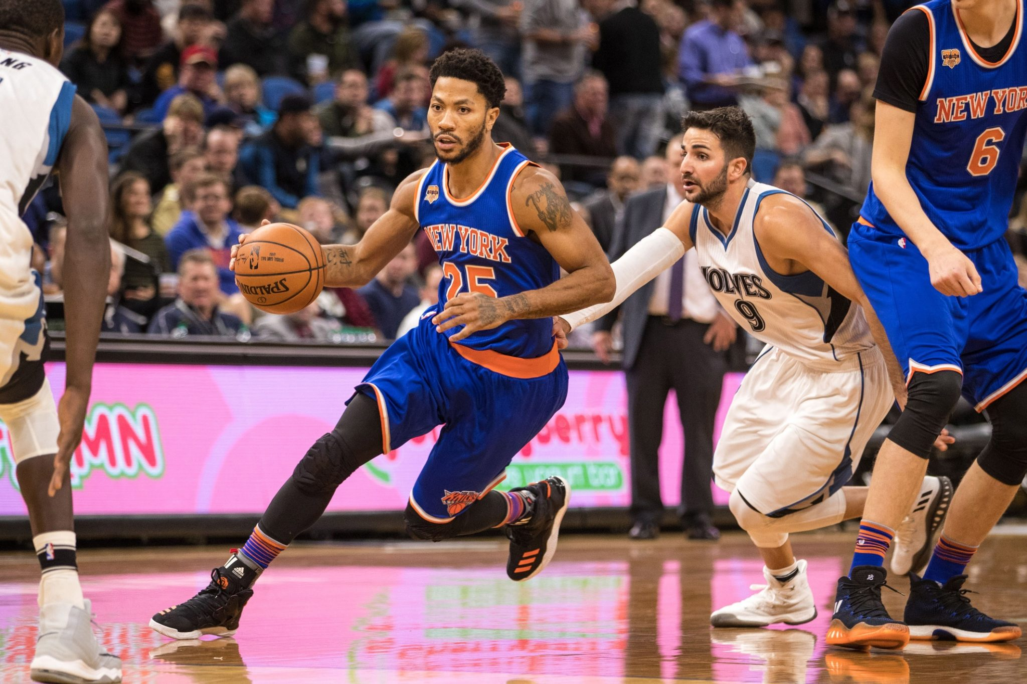 New York Knicks' Derrick Rose: 'I want to play the rest of my life here'