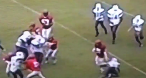 New York Yankees' prospect Clint Frazier was a stud football player in high school (Video)