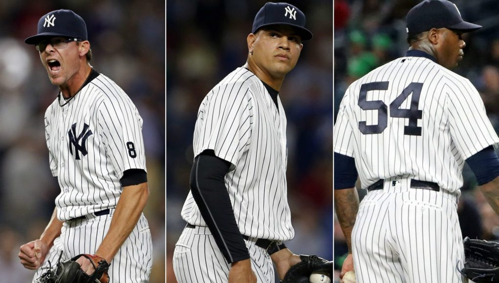 New York Yankees: 2017's bullpen may be better than 'No-Runs DMC' 1