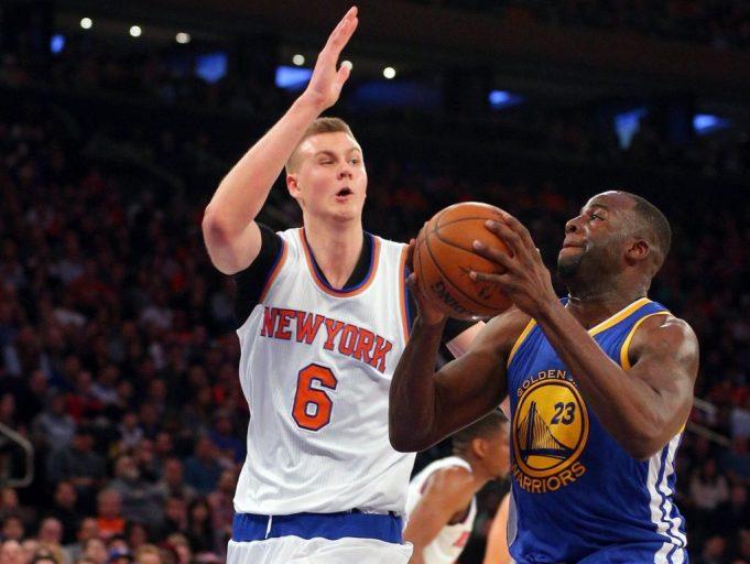 New York Knicks: Kristaps Porzingis is 'ready' for Draymond Green