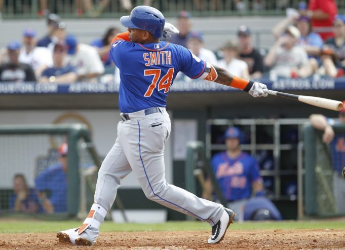 New York Mets' Dominic Smith could present future problems for Alderson, staff