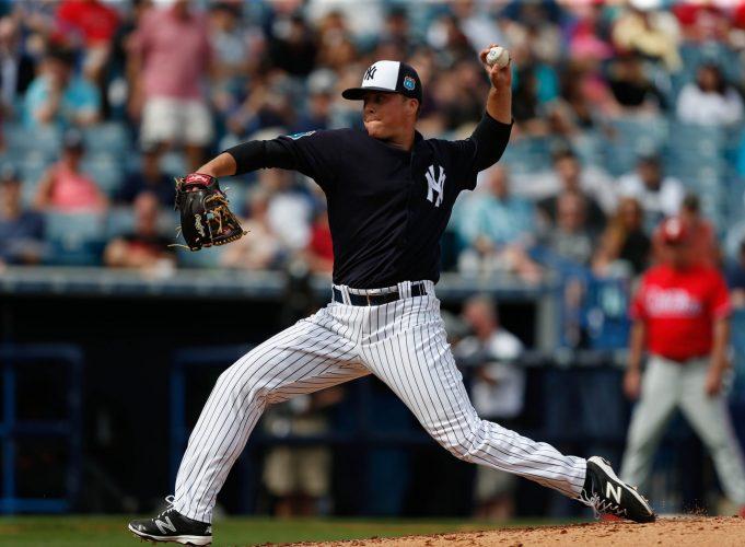 New York Yankees non-tender Jacob Lindgren, leave open roster spot