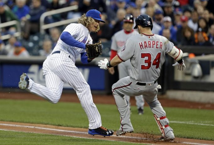 New York Mets:  Noah Syndergaard just called out Bryce Harper in a nasty way
