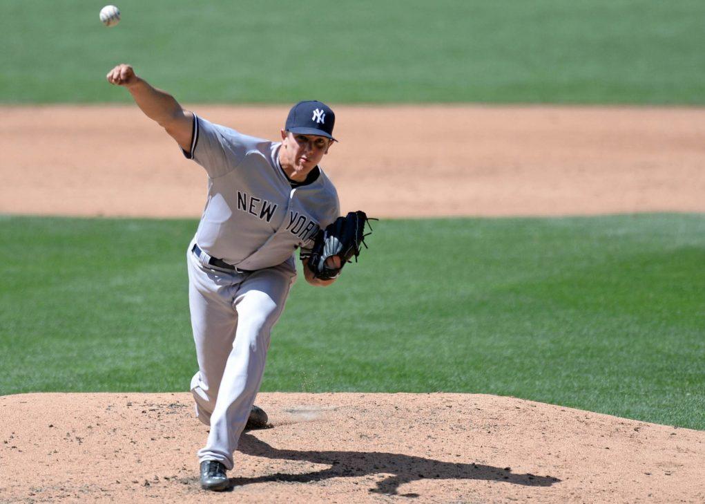 New York Yankees designate Nick Goody for assignment