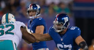 New York Giants OL Justin Pugh likely out against Dallas Cowboys (Report)
