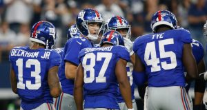 New York Giants receivers are tipping plays, says Steelers' Mike Mitchell 1