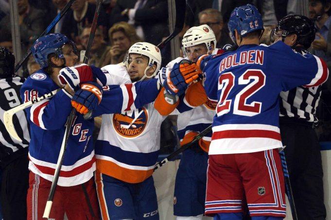 The New York Rangers are lacking in a very important department