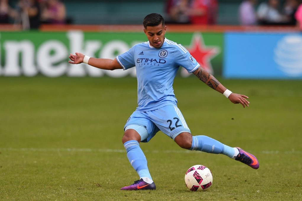 NYCFC Ronald Matarrita nominated for 2016 Latino of the Year
