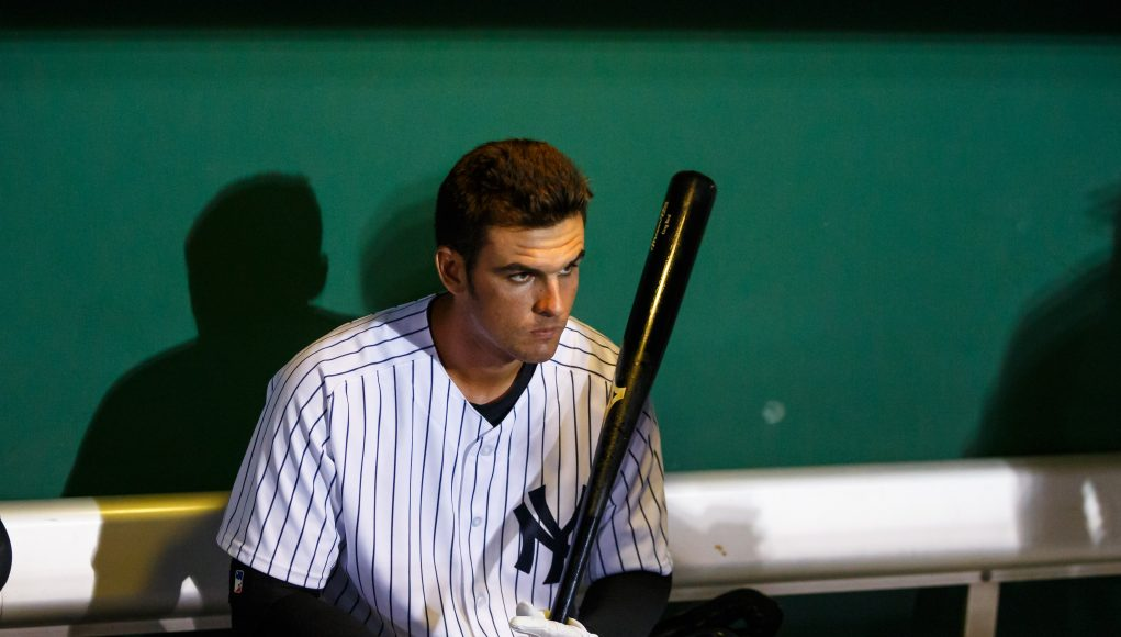 New York Yankees' Greg Bird: 'I'm right where I want to be'
