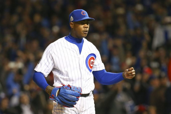 New York Yankees: Report of Chapman's $100 million demand 'untrue'