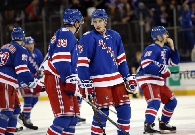 The New York Rangers seem amazingly fit in the youth department