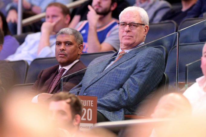 New York Knicks: Phil Jackson 'fully intends' to finish out contract (Report)