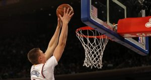 New York Knicks: Kristaps Porzingis' case for Most Improved Player