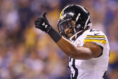 Nov 24, 2016; Indianapolis, IN, USA; Pittsburgh Steelers free safety Mike Mitchell (23) against the Indianapolis Colts at Lucas Oil Stadium. The Steelers won 28-7. Mandatory Credit: Aaron Doster-USA TODAY Sports