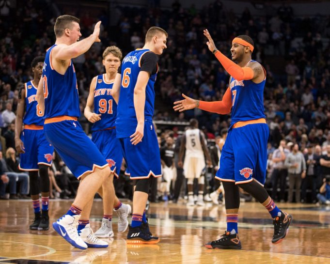 Can the New York Knicks keep up with this winning pace? 3