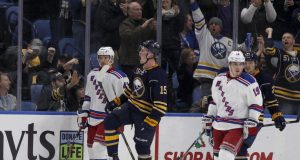 New York Rangers collapse as Jack Eichel lifts Buffalo Sabres (Highlights) 2