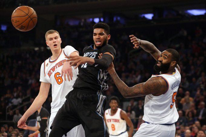 Kyle O'Quinn, New York Knicks out grit the Minnesota Timberwolves (Highlights)