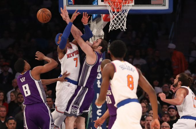 New York Knicks overcome big night from DeMarcus Cousins, hold on against Kings (Highlights)