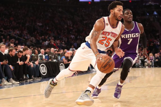 New York Knicks: Derrick Rose says team 'can't be content with where we're at'