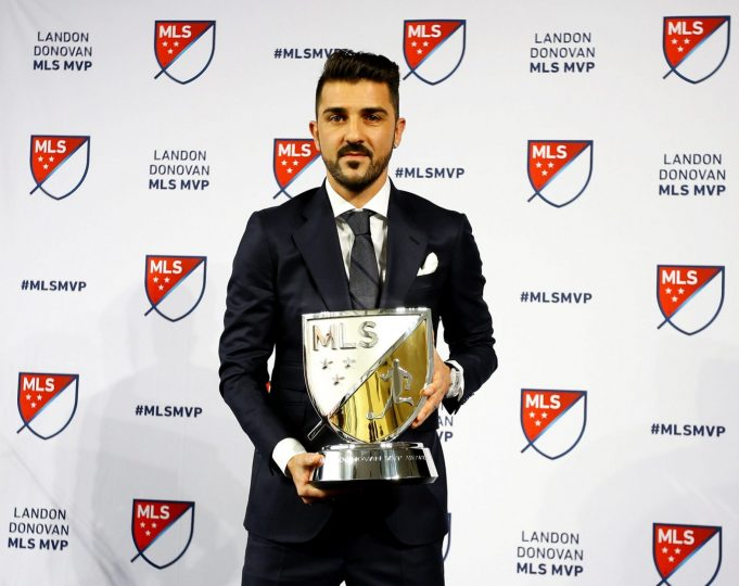 David Villa Claims a spot in NYCFC, MLS lure 2