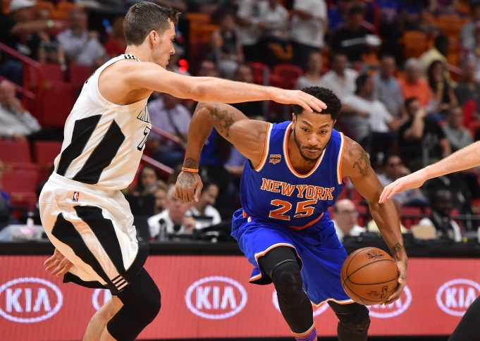 New York Knicks: Derrick Rose out Friday, but Sunday return expected