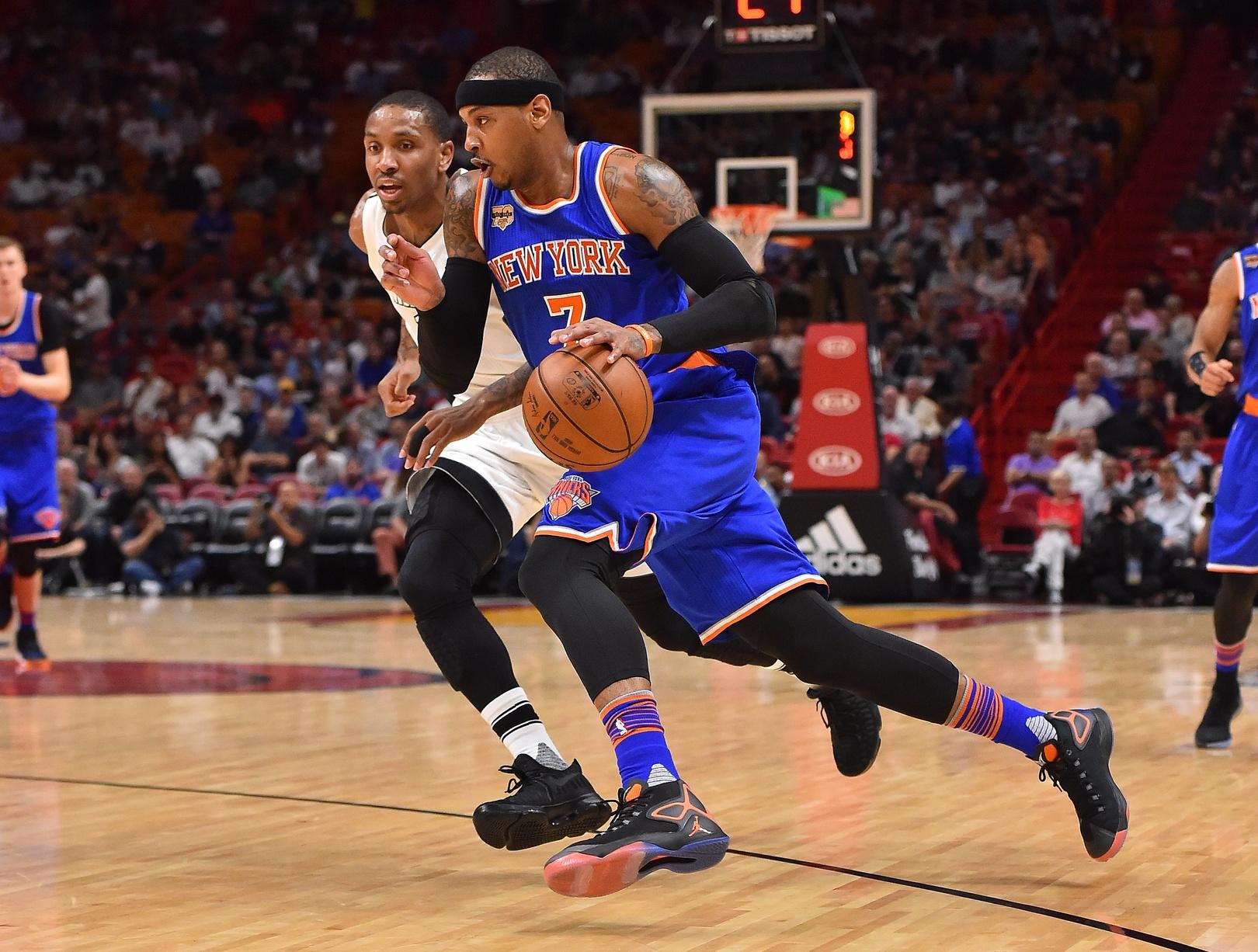 New York Knicks' Carmelo Anthony stars in win over Miami Heat (Highlights)