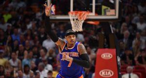 New York Knicks: Carmelo Anthony sends positive message through social media