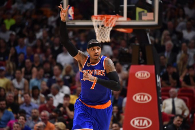 New York Knicks: Carmelo Anthony sends positive message through social media