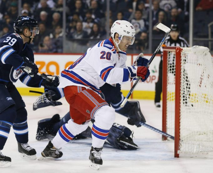Kevin Hayes scores late as New York Rangers beat Winnipeg Jets 2-1 (Highlights)