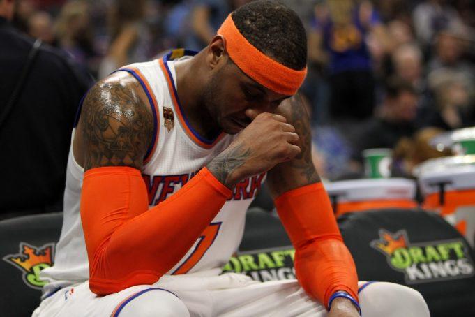 Carmelo Anthony responds to Jax as New York Knicks beat Kings (Highlights)
