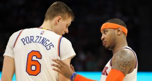 New York Knicks' Carmelo Anthony is skeptical about a new CBA deal