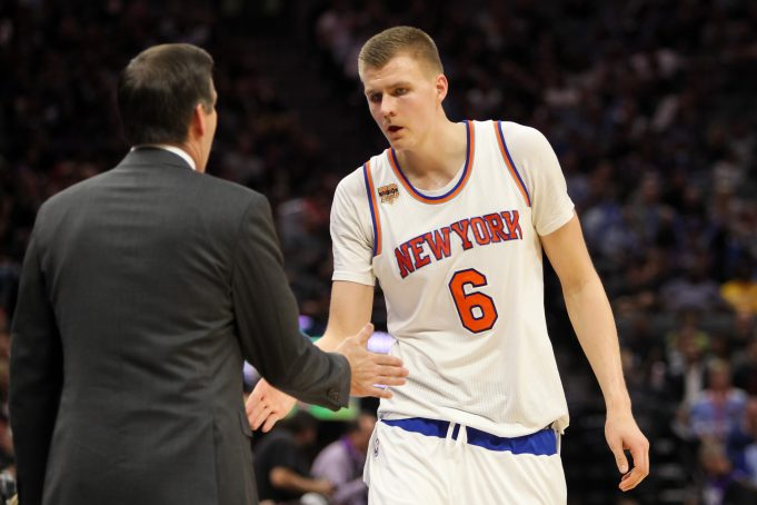 Should New York Knicks fans be concerned with Kristaps Porzingis' latest struggles? 1