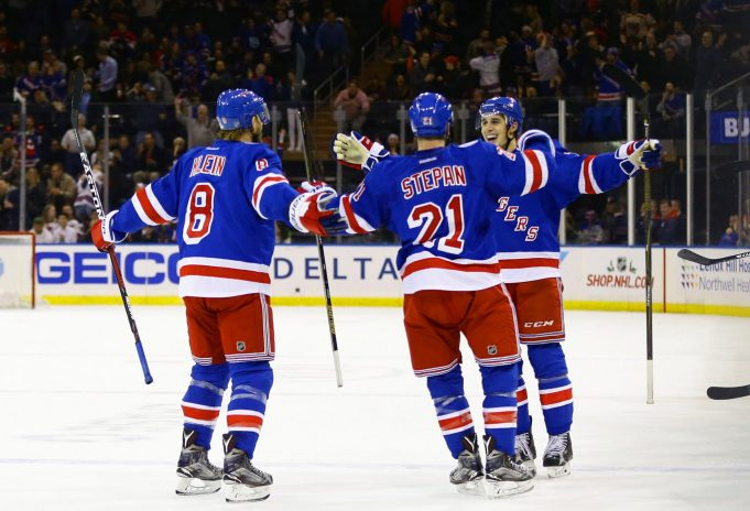New York Rangers 5, New Jersey Devils 0: Antti Raanta collects second-straight shutout