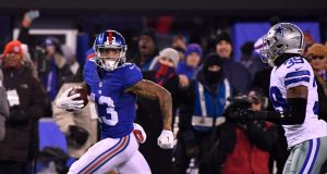 Odell Beckham Jr., New York Giants edge Dallas Cowboys in defensive battle (Highlights) 2