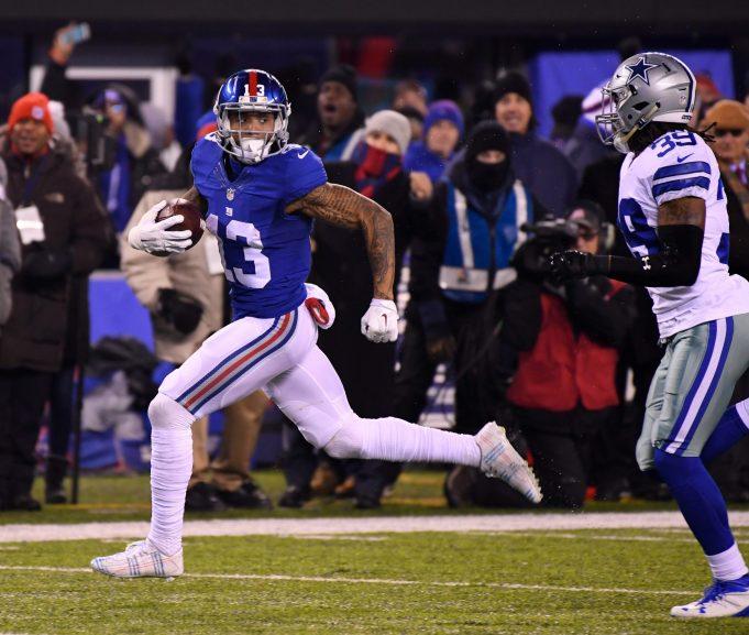 Odell Beckham Jr., New York Giants edge Dallas Cowboys in defensive battle (Highlights) 2