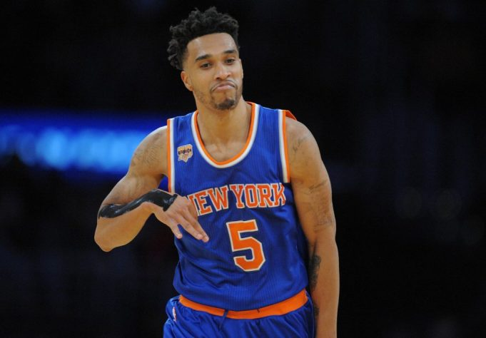 New York Knicks: Courtney Lee shooting more threes is a good thing