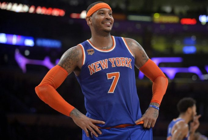 New York Knicks: Carmelo Anthony haters silenced after loss to Warriors 1