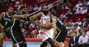 Brooklyn Nets can't contain James Harden, Houston Rockets (Highlights)