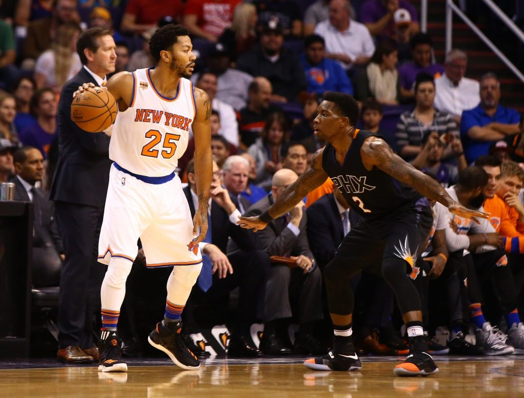 Derrick Rose will make or break the New York Knicks